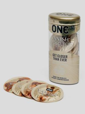 ONE Vanish Hyper-Thin Condoms (12 Pack)