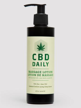 CBD Daily Massage Lotion 8 fl oz