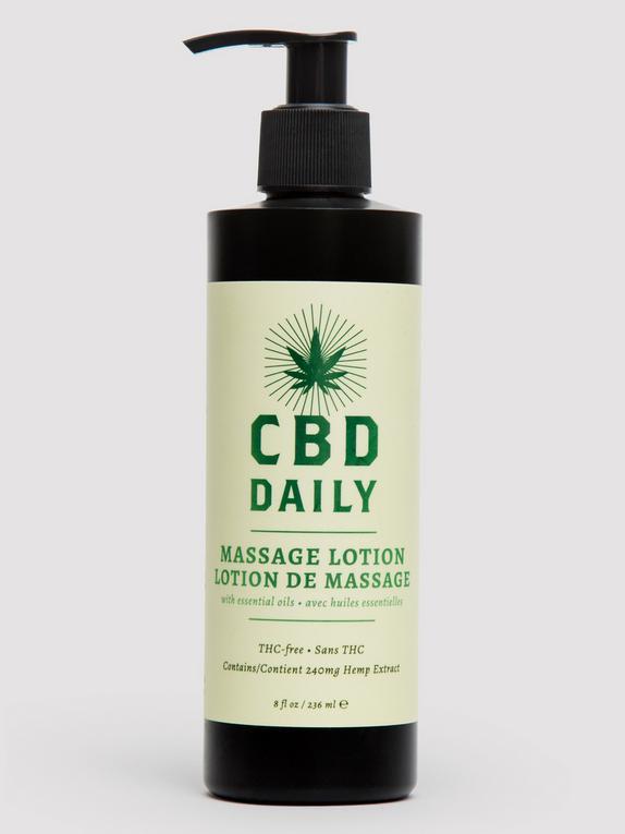 CBD Daily Massage Lotion 8 fl oz, , hi-res