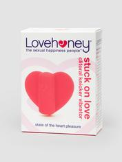 Lovehoney Stuck On Love Clitoral Heart Panty Vibrator, Pink, hi-res