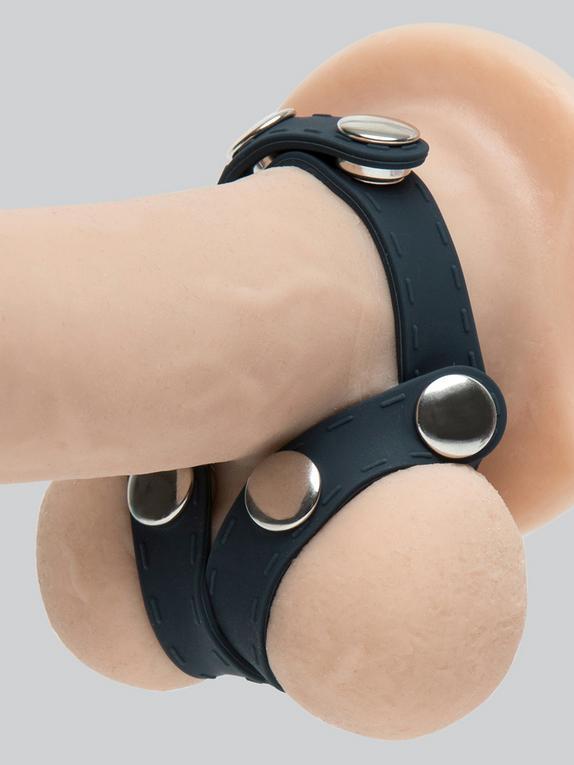 Boners Silicone V-Shape Ball Splitter, Black, hi-res