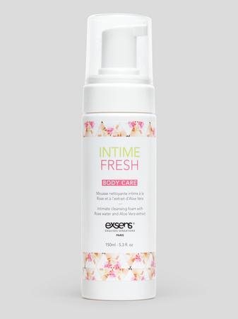 EXSENS Rose Water and Aloe Vera Intimate Cleansing Foam 5 fl oz
