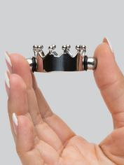 Magnetic Crown Nipple Clamps, Silver, hi-res
