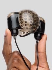 Dual Power Vibrating Penis Head Sleeve, Black, hi-res