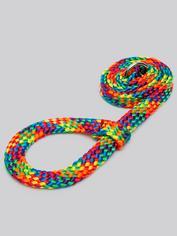 Bondage Boutique Rainbow Soft Rope Restraints, Rainbow, hi-res