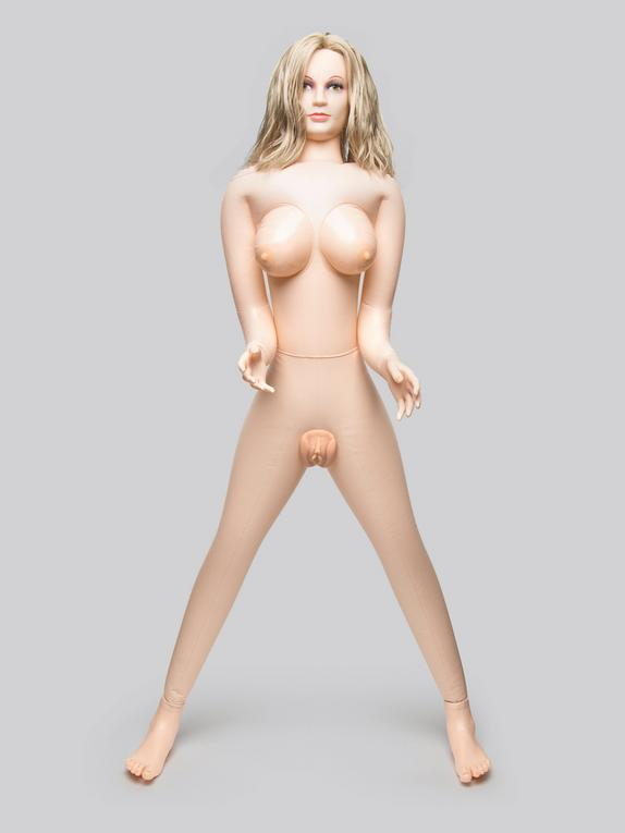 Shy Camilla Realistic Vagina and Ass Vibrating Inflatable Sex Doll 3.2kg, Flesh Pink, hi-res