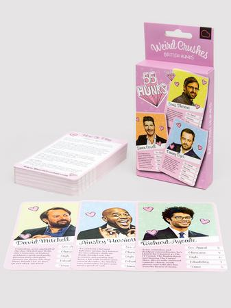 Weird Crushes Card Game British Hunks Edition