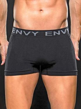 Envy Black Seamless Boxer Shorts