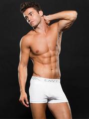 Envy Black Seamless Boxer Shorts, White, hi-res