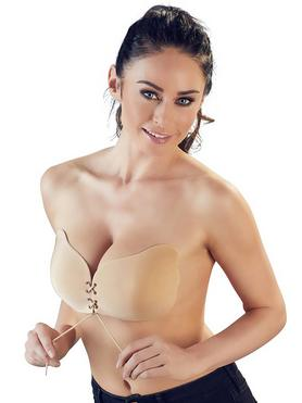 Cottelli Self-Adhesive Bra with Lacing
