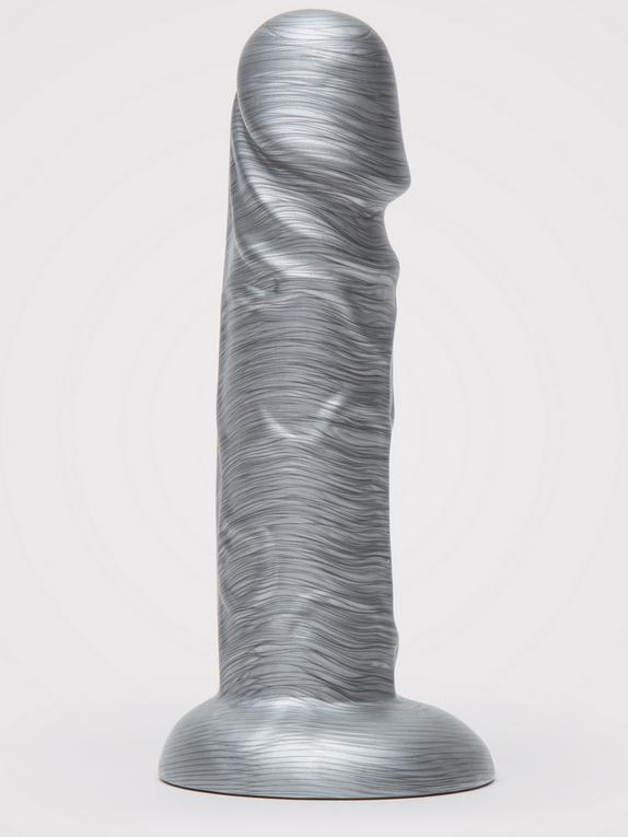Lovehoney Time to Shine Realistic Silver Dildo 6 Inch , Silver, hi-res