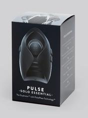 Hot Octopuss PULSE SOLO ESSENTIAL Vibrating Male Masturbator , Black, hi-res