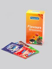 Pasante Mixed Flavoured Condoms (12 Pack), , hi-res