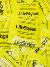 LifeStyles Ultra-Thin Lubricated Condoms (40 Count), , hi-res