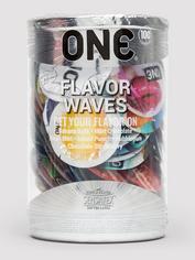 ONE Flavor Waves Condoms (100 Count), , hi-res
