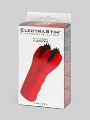 Electrastim Electrosex Silicone Double Pinwheel, Red, hi-res
