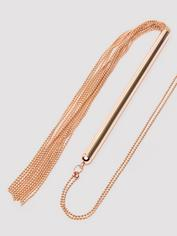 Bondage Boutique Rose Gold Necklace Flogger, Gold, hi-res