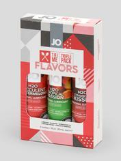 System JO Tri Me Flavours Lubricant Triple Pack (3 x 30ml), , hi-res