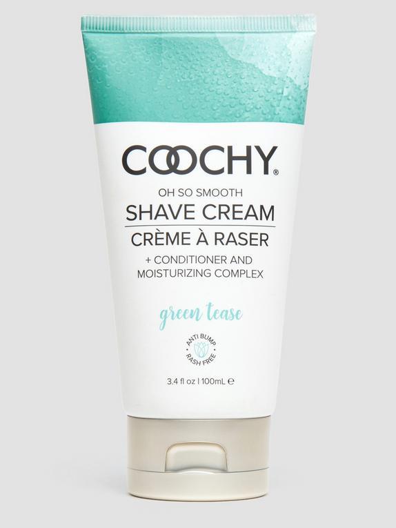 Coochy Green Tease Intimate Shaving Cream 3.4 fl oz, , hi-res
