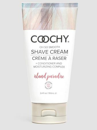 Coochy Island Paradise Intimate Shaving Cream 3.4 fl oz