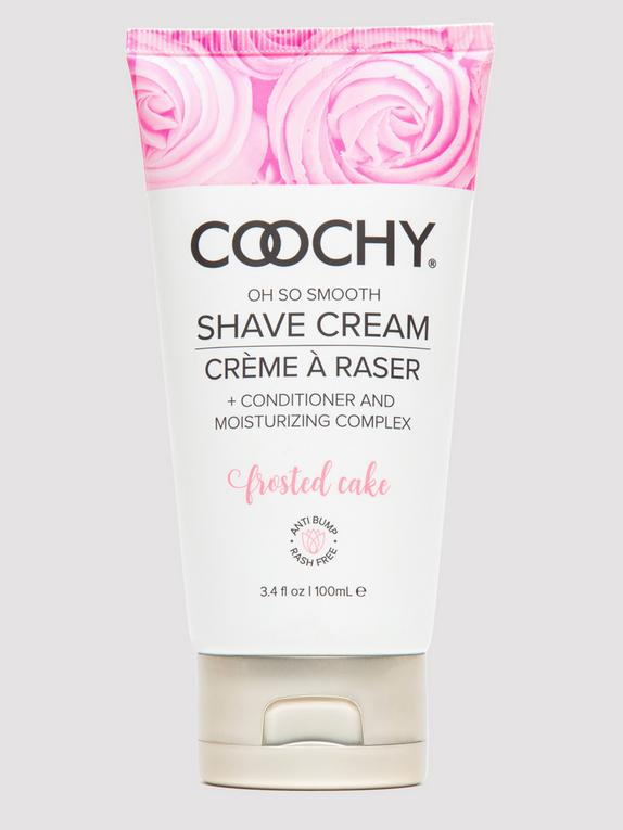 Coochy Frosted Cake Intimate Shaving Cream 3.4 fl oz, , hi-res