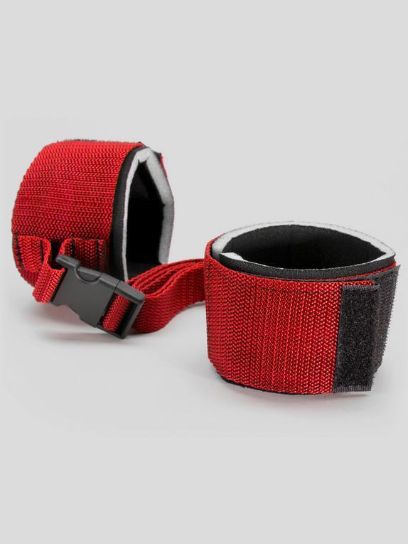 Scarlet Bound Wrist or Ankle Cuffs, Red, hi-res