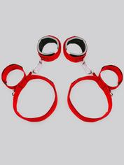 Scarlet Bound Thigh, Wrist and Ankle Restraint, Red, hi-res