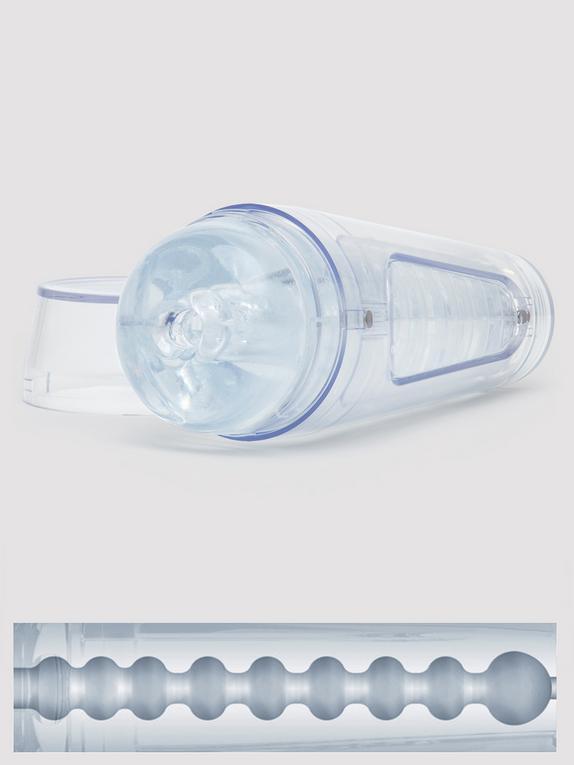 Main Squeeze OPTIX Male Masturbator, Clear, hi-res
