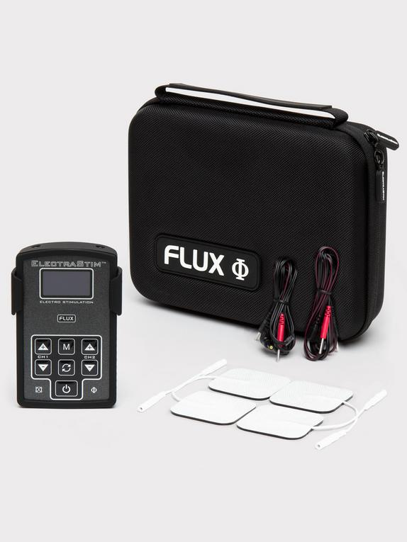 Electrastim FLUX Dual-Channel Stimulator Kit, Black, hi-res