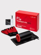 Lelo F1s Developer's Kit App Controlled Rechargeable Male Vibrator, Red, hi-res