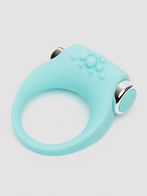Lovehoney Buzz Vibrating Love Ring, Blue, hi-res