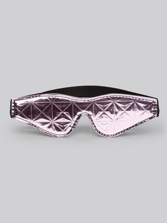 Bondage Boutique Metallic Pink Blindfold