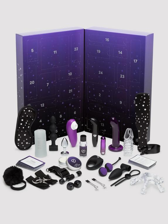 Lovehoney Best Sex of Your Life Couple's Sex Toy Advent Calendar, Black, hi-res