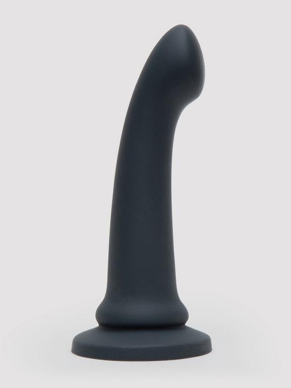 Fifty Shades of Grey Feel It Baby Silicone G-Spot Dildo 7 Inch, Grey, hi-res