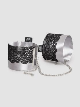 Fifty Shades of Grey Play Nice Satin and Lace Wrist Cuffs