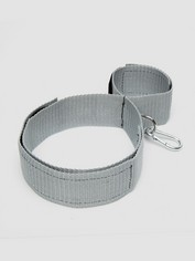 Silver Seduction Thigh, Wrist and Ankle Restraint, Grey, hi-res