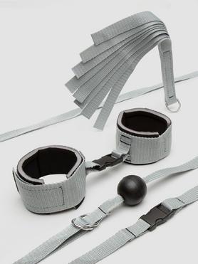 Silver Seduction Beginner's Bondage Kit (4 Piece)