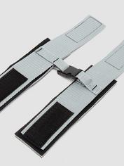 Silver Seduction Beginner's Wrist or Ankle Cuffs, Grey, hi-res