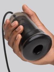 Blowmotion Auto Suction Rechargeable Vibrating Male Masturbator, Black, hi-res