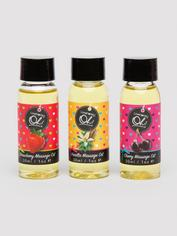 Lovehoney Sweet Caress Massage Oil Gift Set (3 x 30ml), , hi-res