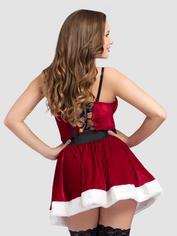 Miss Santa Red Velvet Dress, Red, hi-res