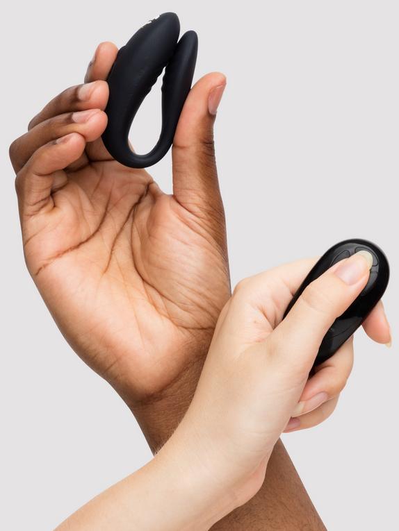 We-Vibe X Lovehoney Remote Control Clitoral and G-Spot Vibrator, Black, hi-res