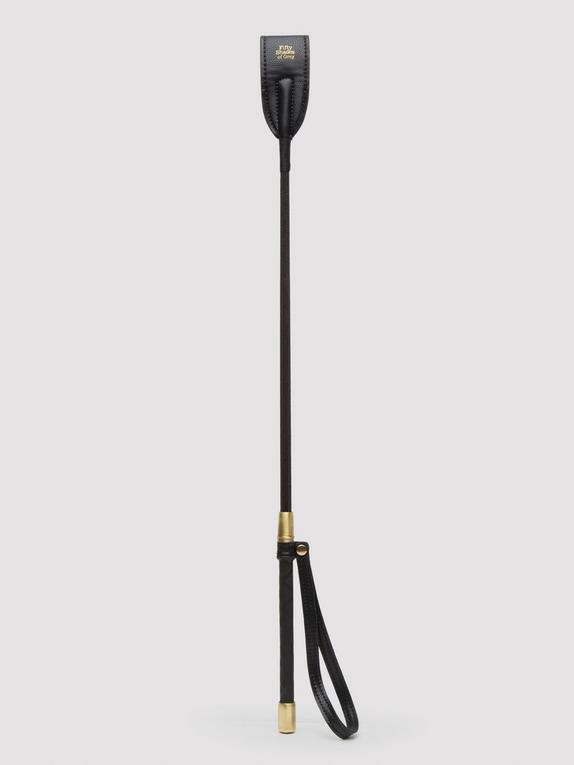 Fifty Shades of Grey Bound to You Faux Leather Riding Crop, Black, hi-res