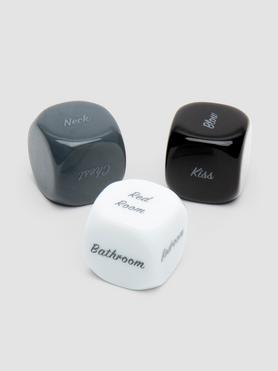 Fifty Shades of Grey Play Nice Kinky Dice for Couples (3 Pack)