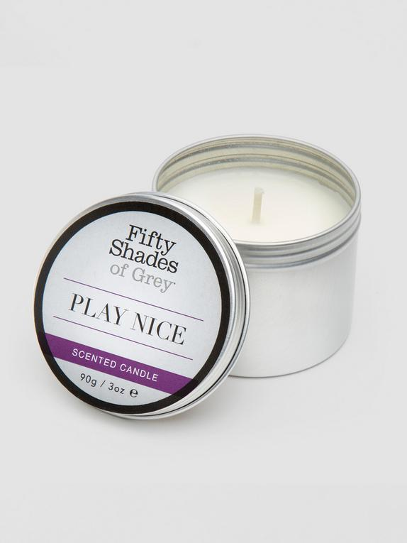 Fifty Shades of Grey Play Nice Vanilla Scented Candle 90g, , hi-res
