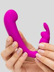 Happy Rabbit G-Spot Clitoral Curve Vibrator, Purple, hi-res