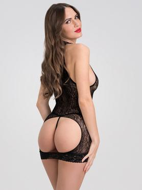 Fifty Shades of Grey Captivate Black Lace Spanking Mini Dress