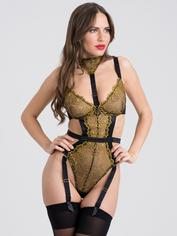 Fifty Shades of Grey Captivate Black and Gold Body, Black, hi-res