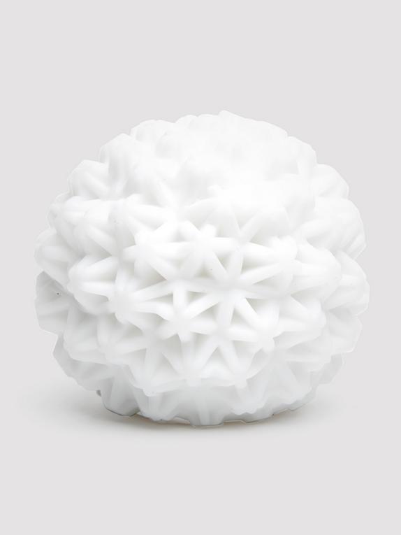 TENGA GEO Coral Textured Male Masturbator, White, hi-res