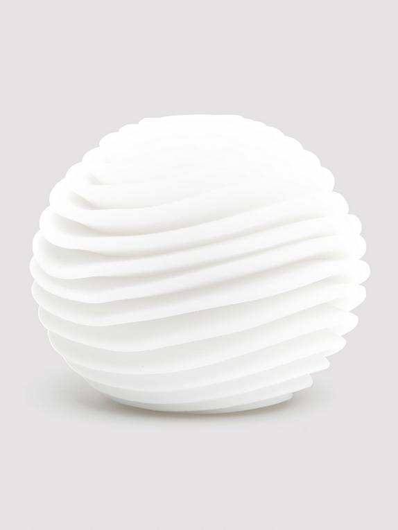 TENGA GEO Aqua Textured Male Masturbator, White, hi-res